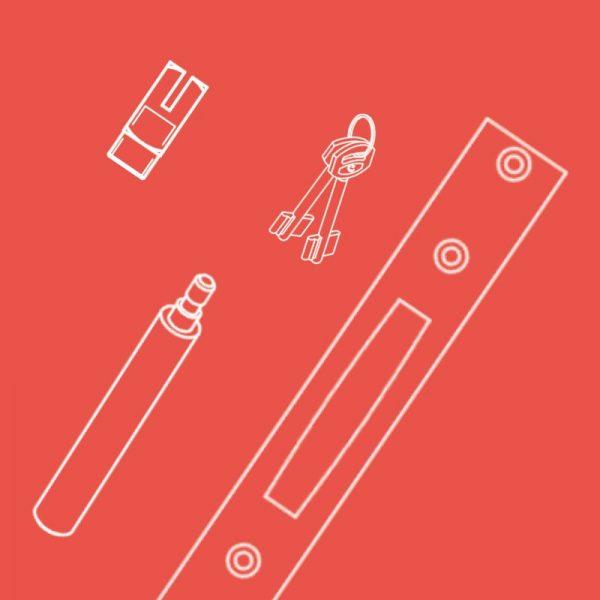 Contropiastre e accessori